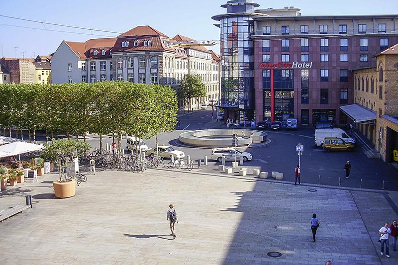 Willy Brandt Platz Erfurt