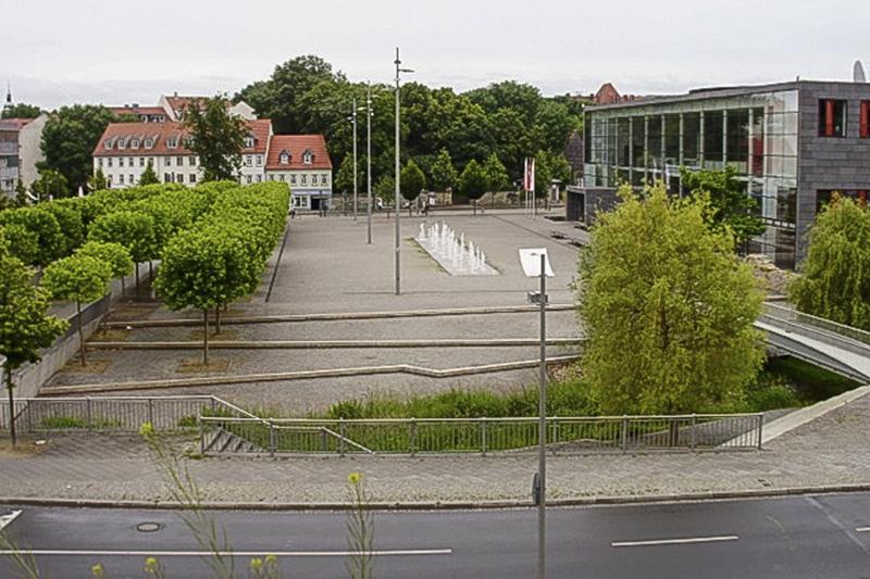 Theaterplatz in Erfurt