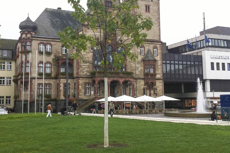 Umgestaltung Marktplatz Reydt Mönchengladbach